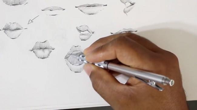 【视频】动漫人物的嘴巴怎么画 漫画嘴部的多种画法手绘视频教程_www.youyix.com