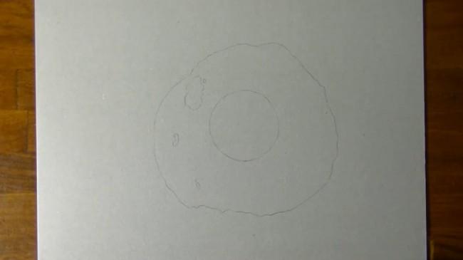 【视频】超写实逼真的荷包蛋彩铅手绘视频教程 荷包蛋的画法_www.youyix.com