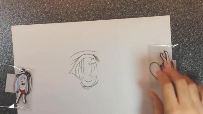 【视频】常见动漫人物的眼睛马克笔上色手绘视频教程_www.youyix.com