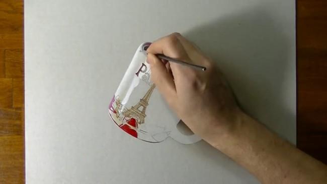 【视频】马克笔结合彩铅画超写实马克杯手绘视频教程 逼真的杯子怎么画 画法_www.youyix.com