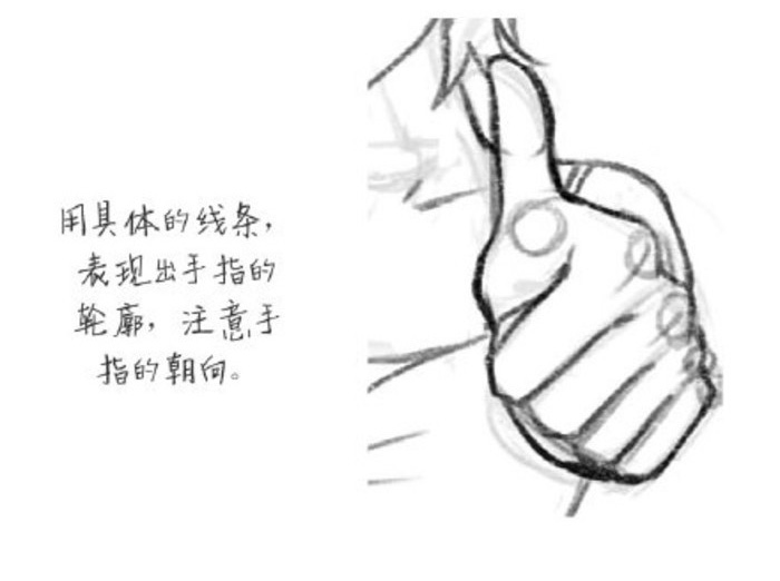 我们现代的社交媒体上大家最喜欢干的一件事情就是点赞,涌现了一大批的点赞狂魔。点赞可不仅仅是在社交媒体上,现实世界我们更应该去点赞,为别人竖起大拇指。鼓励和赞美,可以让我们更加的快乐和幸福噢。 不过在画卡通画的时候大家最头疼的也就是画手势了,竖大拇指这样高难度的动作很多人听见都感觉有点害怕吧。