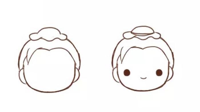 古代服装男生卡通画 牛郎卡通小人简笔画画法手绘教程