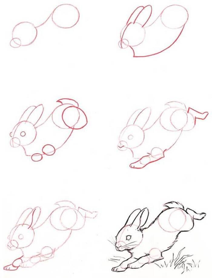 兔子简笔画手绘教程 小兔子怎么画?