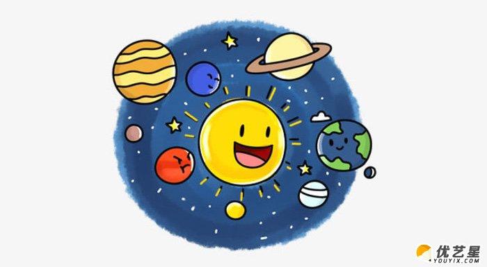 小朋友知道我们生活的地方叫做什么吗?不是说你家门前的那条街道,不是说你的城市和国家,而是说我们生活的这个星球,他的名字叫做地球。并且地球可不是宇宙中唯一的星球呢。我们见到的太阳,月亮都是星球。 我们的地球和其他的八个星球一起构成了太阳系,围绕在中间的就是大家都很熟悉的带给我们阳光和温暖的太阳。 今天我们的
