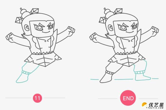 葫芦娃怎么画 简单的葫芦娃简笔画画法 葫芦娃卡通画教程 葫芦兄弟